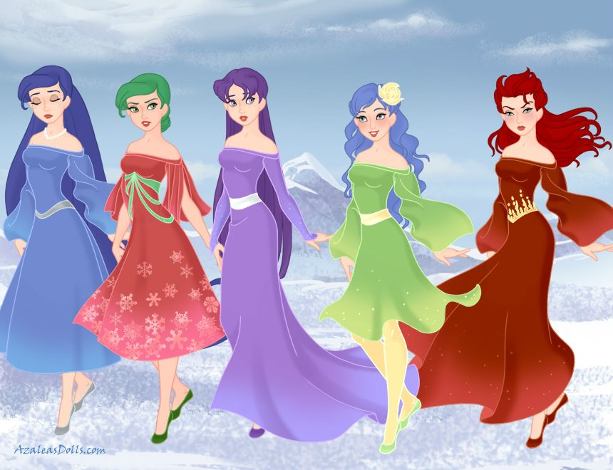 My Inside Out-style Emotions Made With The Snow Queen