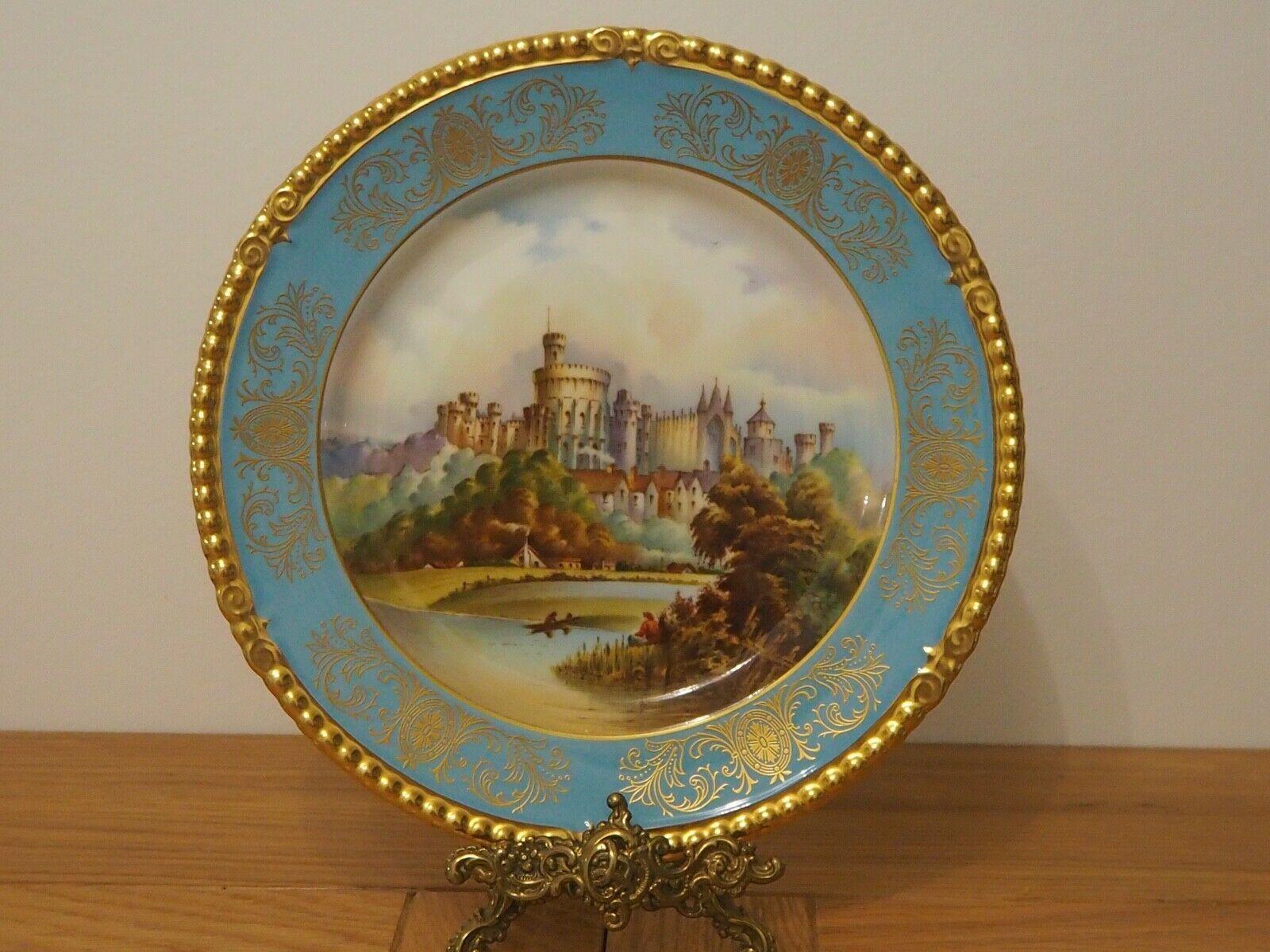 Aynsley Decorative Plate Windsor Castle