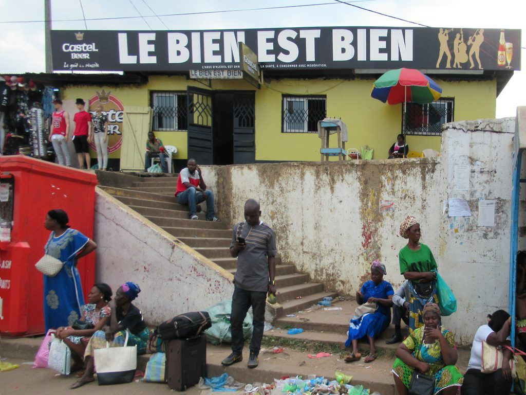 Le Bien Est Bien Is A Popular Public Bar Near The Poto Poto Market In Franceville Gabon Central Africa Gabon Africa Castel