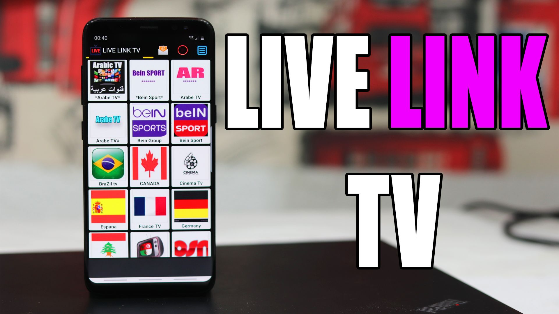 Download LIVE LINK APK to watch best of international