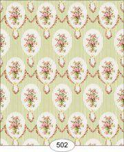 Wallpaper - Sara - Green