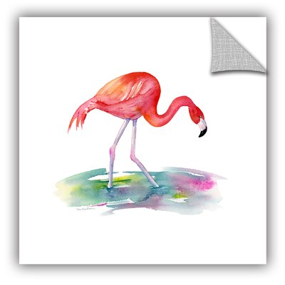 Artwall Flamingo Step Removable Wall Decal Wayfair In 2020 Butterfly Wall Decals Arrow Wall Decal Flamingo Painting