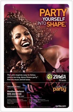Zumba 3 days a week! Zumba GOLD, Aqua Zumba and Zumba (reg). Too much fun, the kind you never knew you were missing.