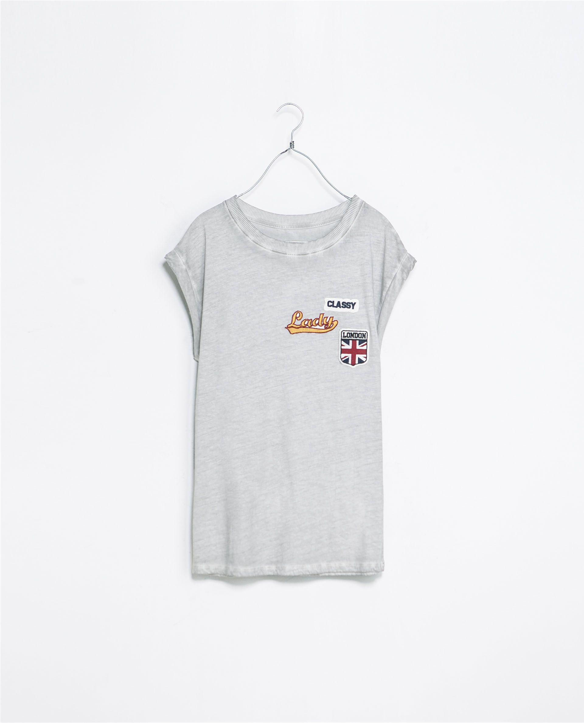 Drama Queen sweathshirt with necklaces TRF Zara | Camisetas