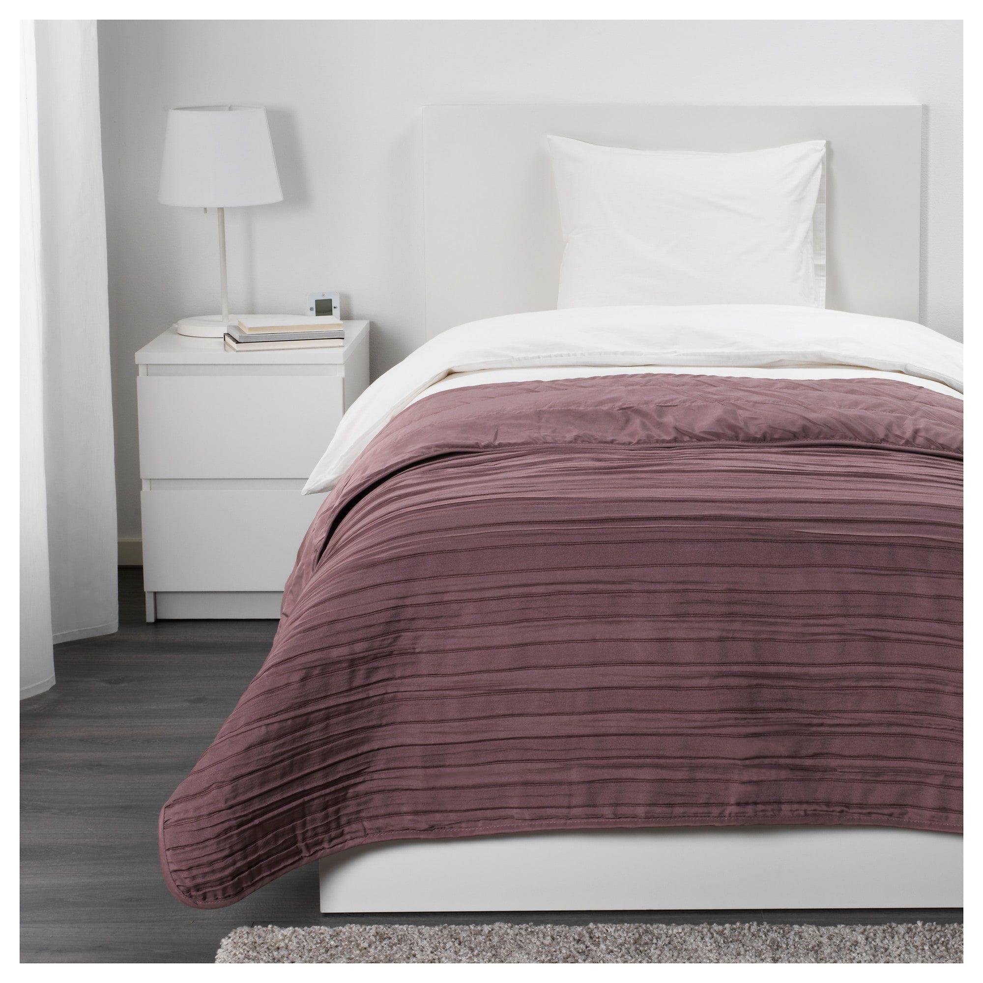 Veketag Bedspread Lilac Ikea Tagesdecke Lila Tagesdecke Bettgrossen