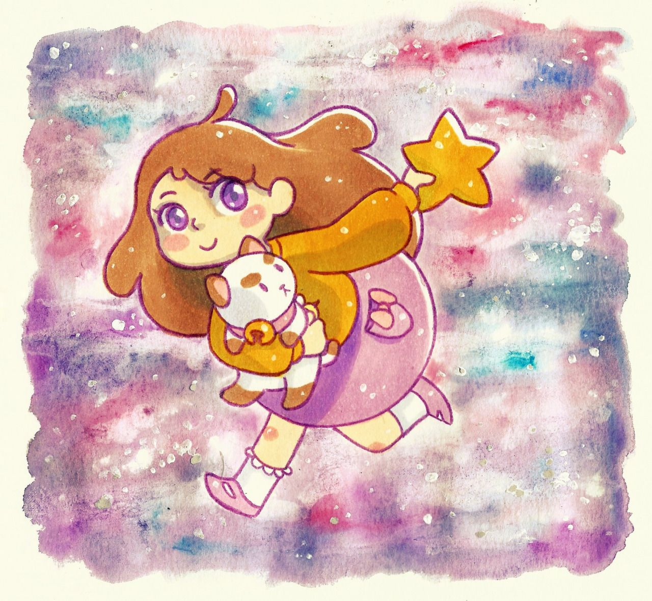 Fyeah Bee & Puppycat — scomicmaker: Puppycat Galaxy! Copics and...
