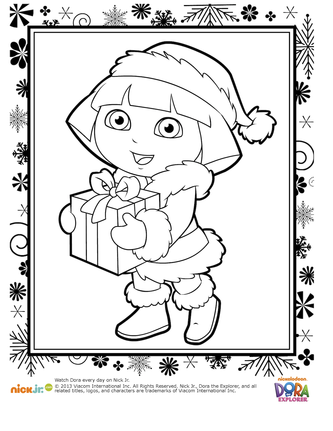 Lots Of Free Christmas Coloring Pages For Kids Including Santa Claus Rudolph Snowman Mickey Mouse Minnie Christmas Coloring Pages Christmas Coloring Books