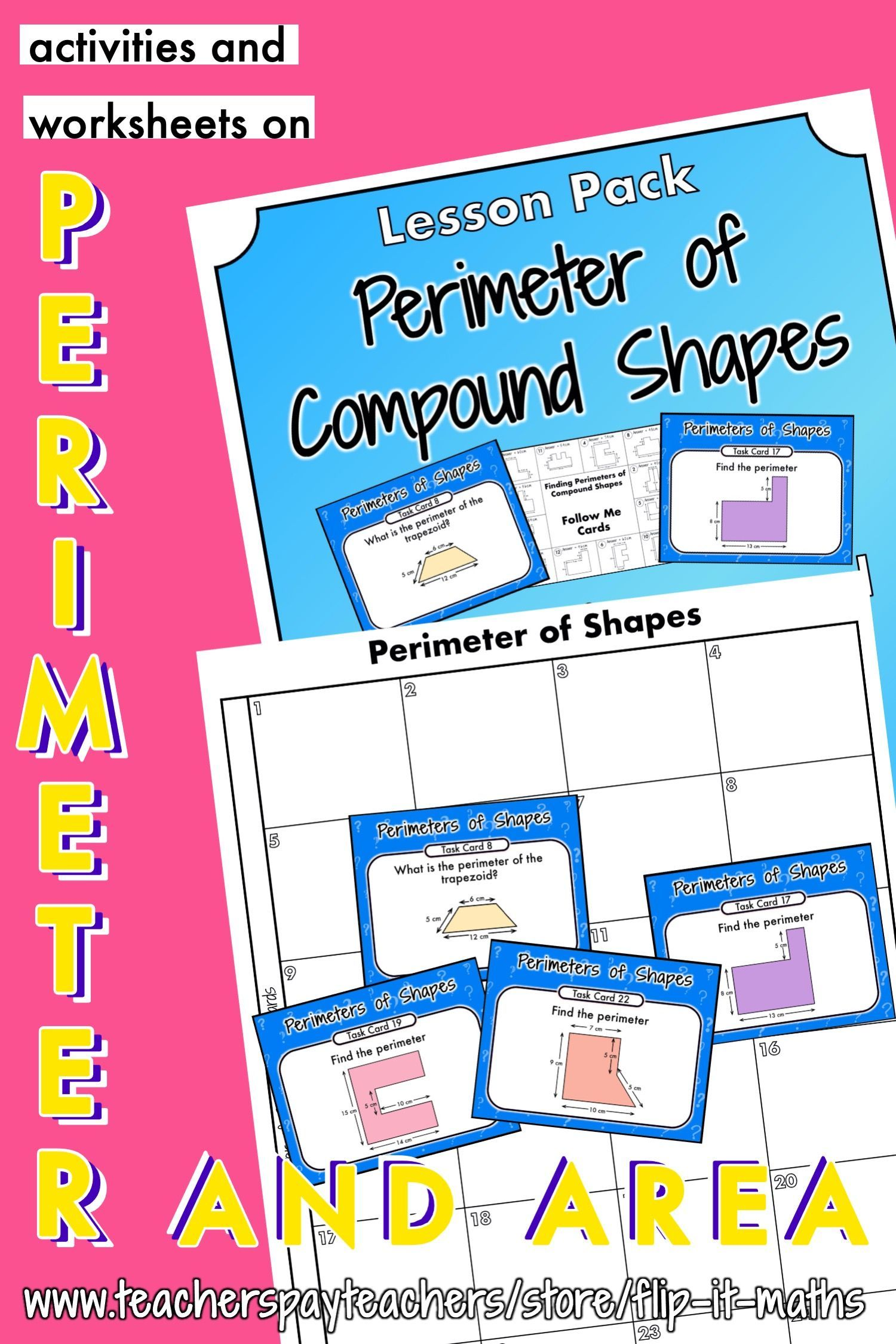 Perimeter Of Compound Shapes In