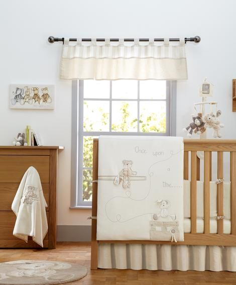 Mamas Papas Once Upon A Time Baby Bedding Set 4 Piece Gorgeous Neutral Design