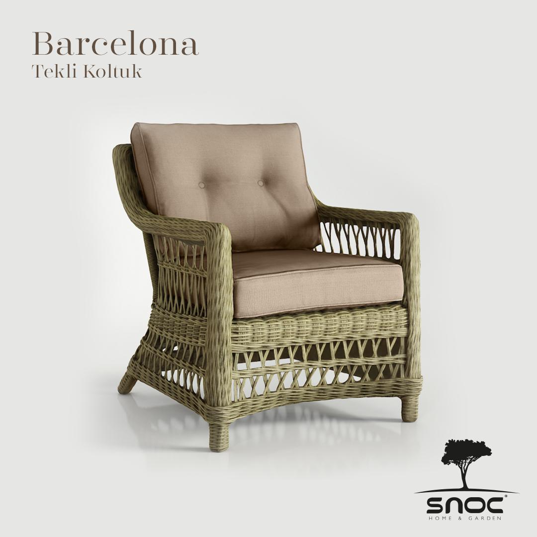 Barcelona Tekli Koltuk Tekli Koltuk Koltuklar Sandalye