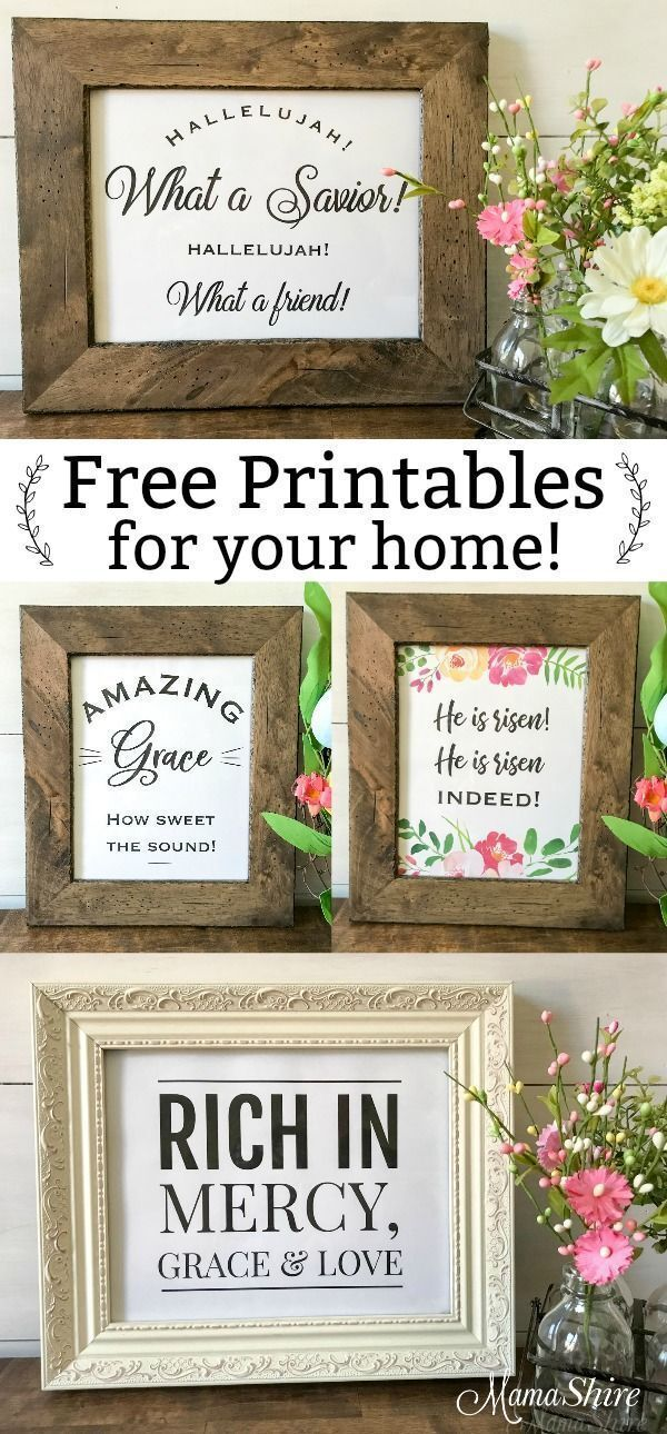 Free Printables Christian Wall Art - Spring and Easter Decor Free Printables Christian Wall Art. - Four printables that are perfect to add to your spring or Easter decor. Easy to print at home and frame. - Free Printables Christian Wall Art! Perfect addition to your home and office decor. #easter #spring #christianart #christian #scripture #freeprintables #mamashire #minimalistic #archdaily #europe #lemari #design #architectural #like #dekorasyon #interiorstyling #interiordecor #nature #style #d