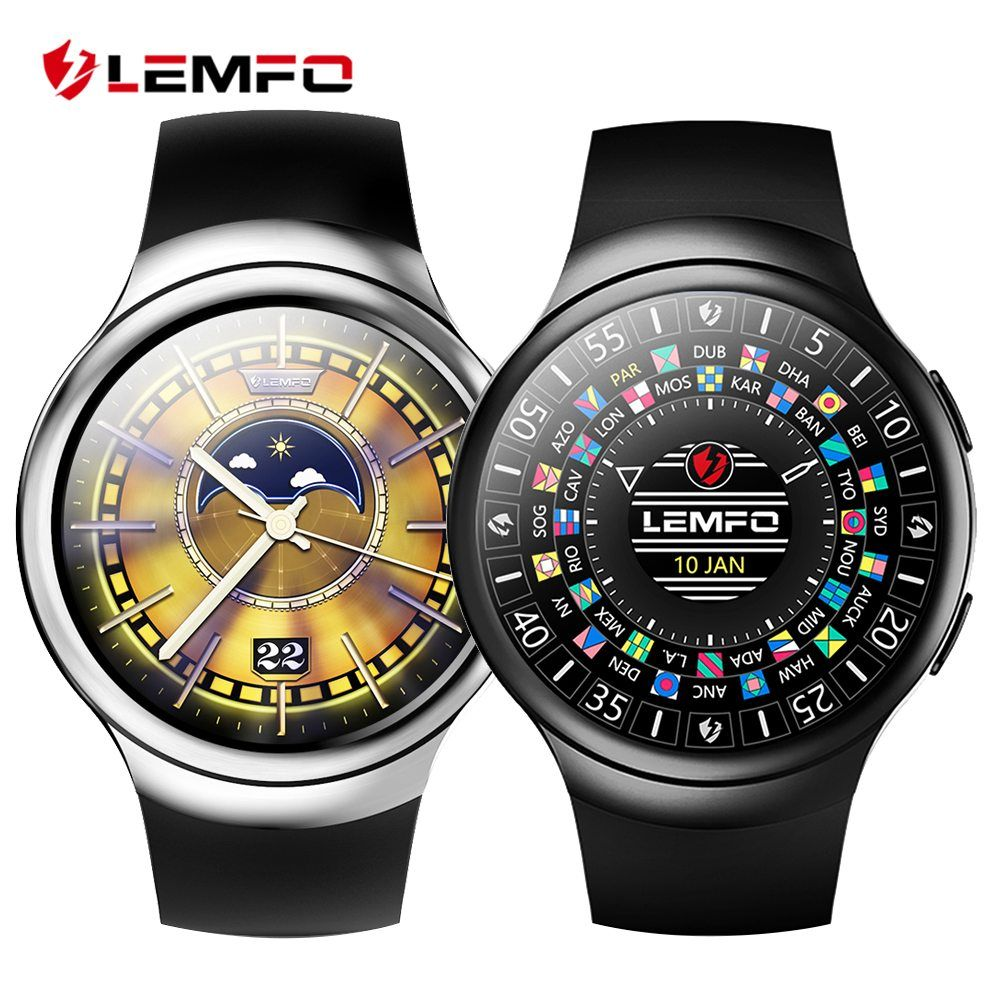 LEMFO LES2 Android 5.1 Smart Watch 1GB + 16GB Heart Rate