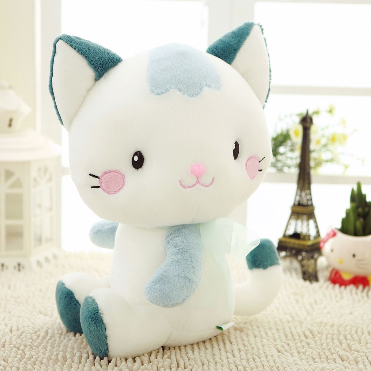 Cat plush stuffed animal toy bedtime soft doll lovely cats