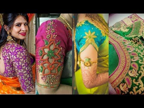 d45ae16bd328d Latest silk saree blouse designs pattu collections patterns youtube also rh  in pinterest
