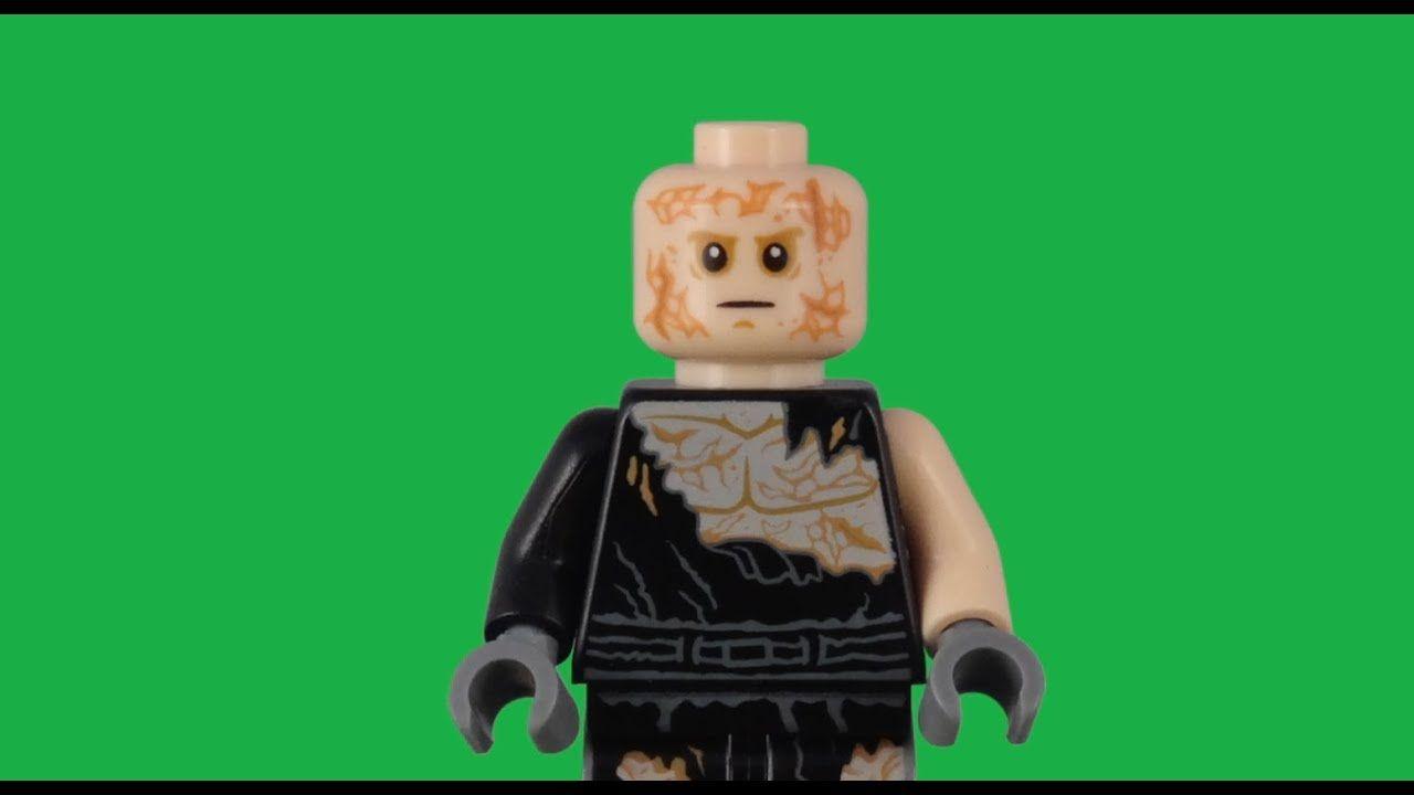 Lego Anakin Skywalker Burnt Minifigure Version 2 Green Screen Stop Motio Lego Star Wars Lego Star Wars Sets Greenscreen