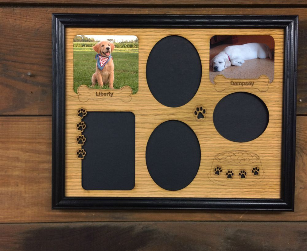 11x14 dog picture frame dog lover gift dog owner gift new puppy new to legacyimages on etsy dog prints bowl picture frame 11x14 puppy dog jeuxipadfo Images
