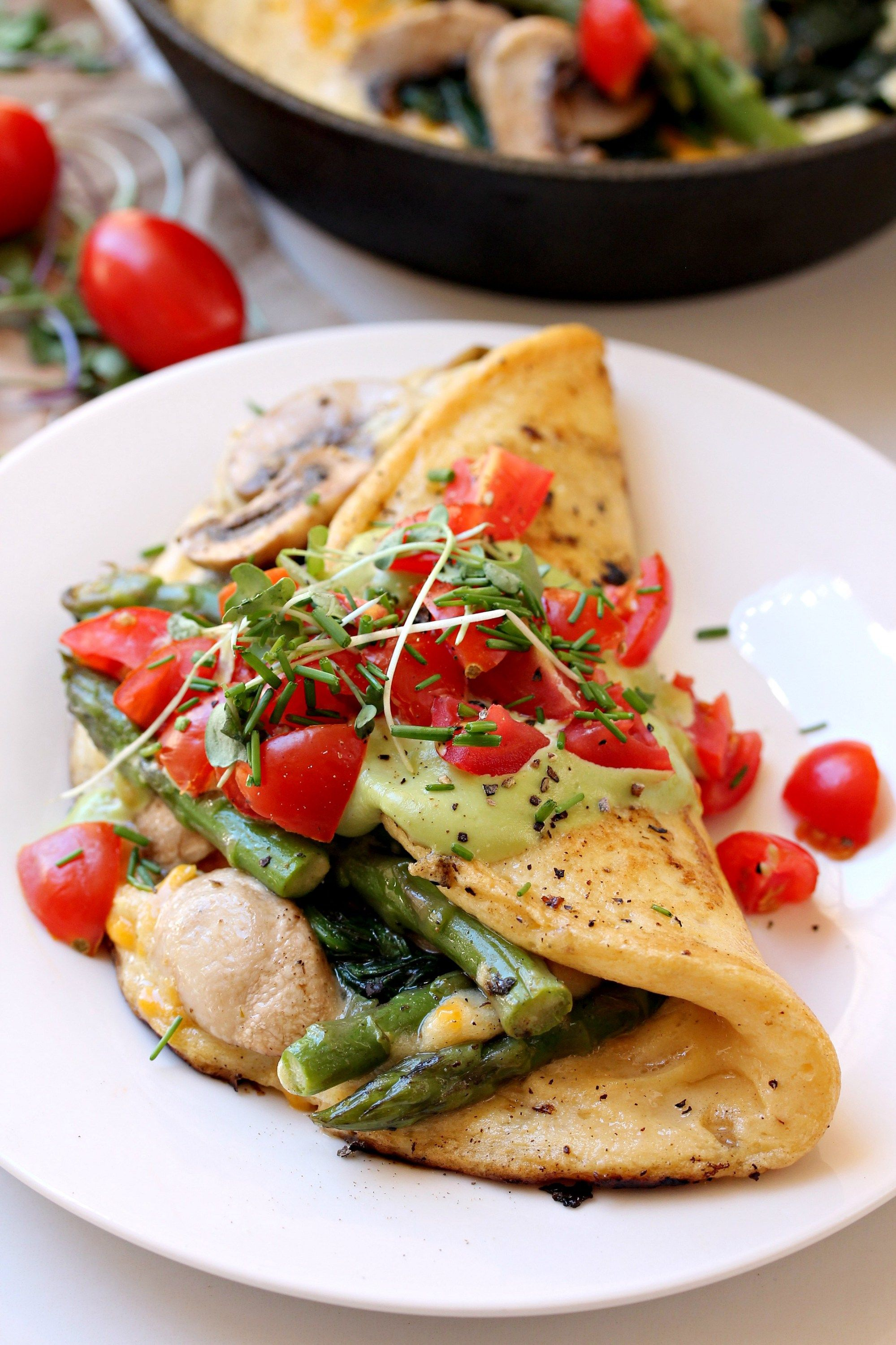 The Best Vegan Omelette