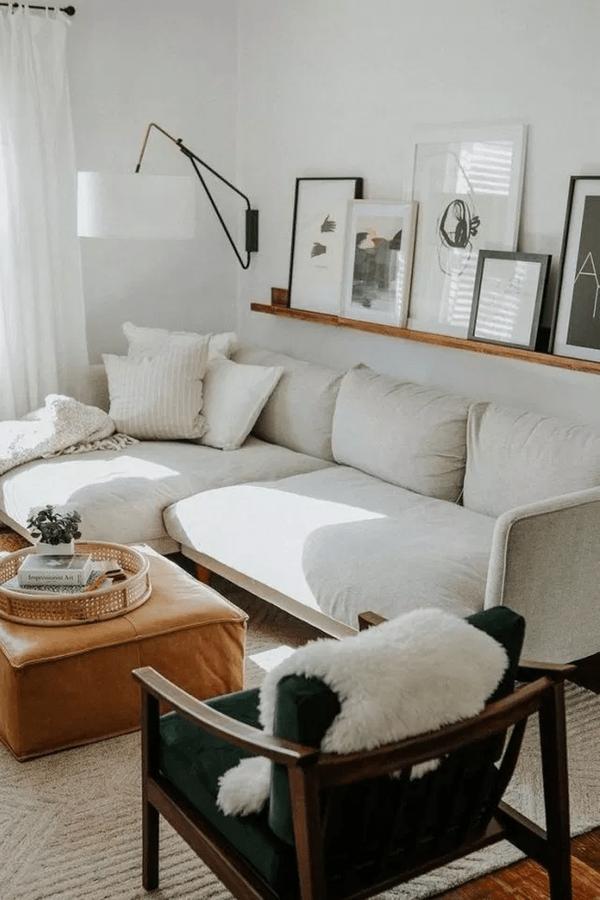 Photo of Living room Design Couch Lighting Furniture Interior design