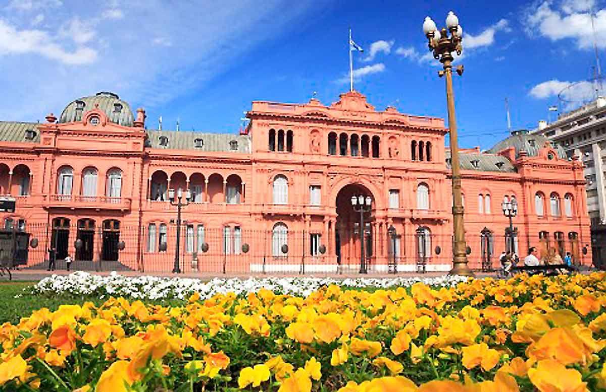 Casa Rosada Cile