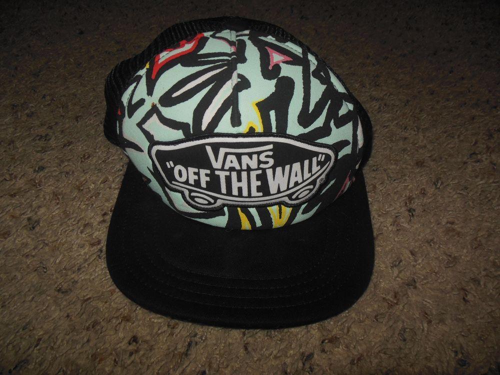ada3b08ab4a VANS OFF THE WALL Women s HAT Beach Girl Trucker Hat Cap One size  fashion