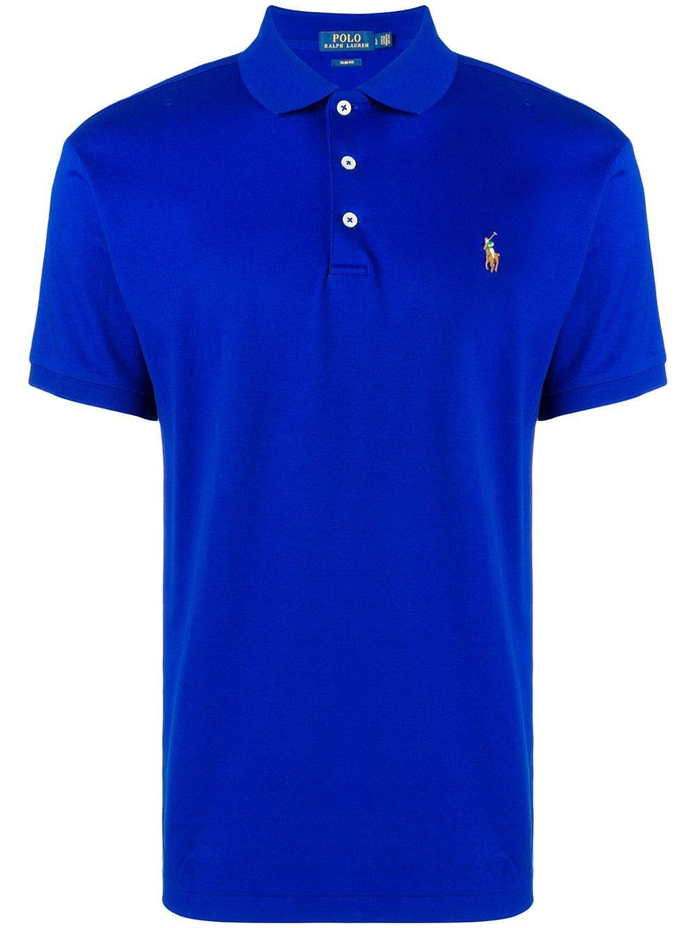 POLO RALPH LAUREN POLO RALPH LAUREN CLASSIC BRAND POLO SHIRT - BLUE.   poloralphlauren  cloth 57c6e9cac9
