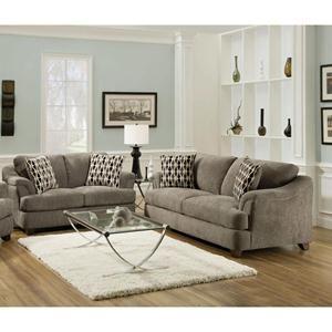 Nebraska Furniture Mart Corinthian 2 Piece Cruiser Gray Living Room Set Furniture City Living Room Sofa Furniture