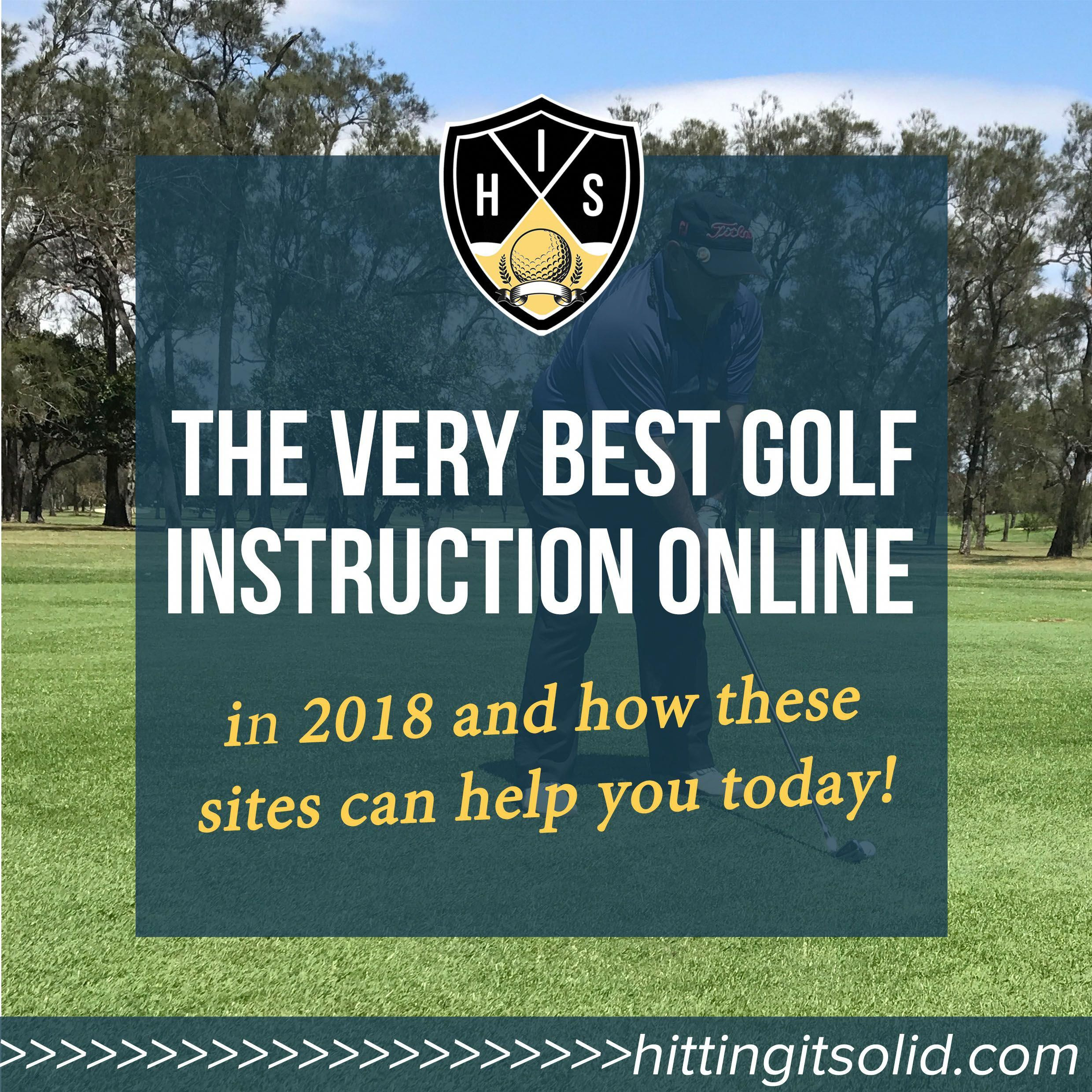 Golf instruction online: the definitive guide for all golfers.