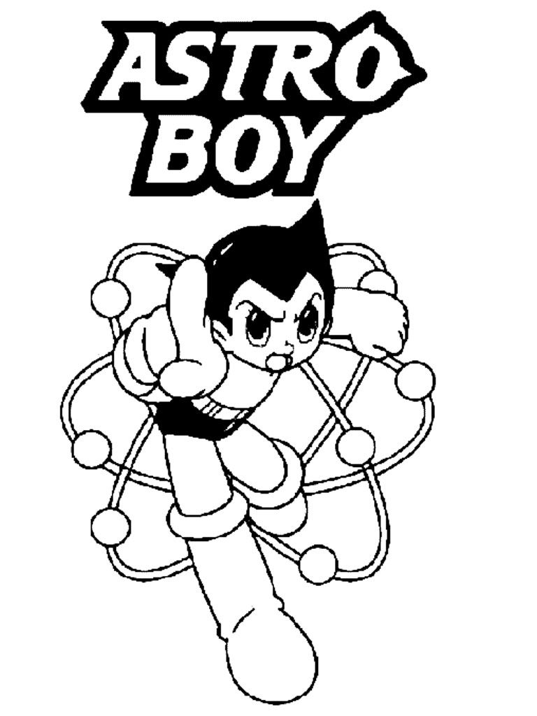astro boy coloring pages httpwwwkidscpcomastro boy coloring pages pinterest