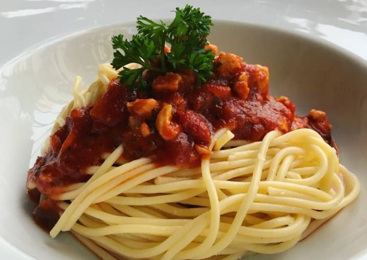 Resepi Olahan Spaghetti Bolognese Yang Lezat Aneka Resepi Enak Resep Spageti Tumis Resep