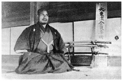 Morihei Ueshiba in 1920 at the age of 38