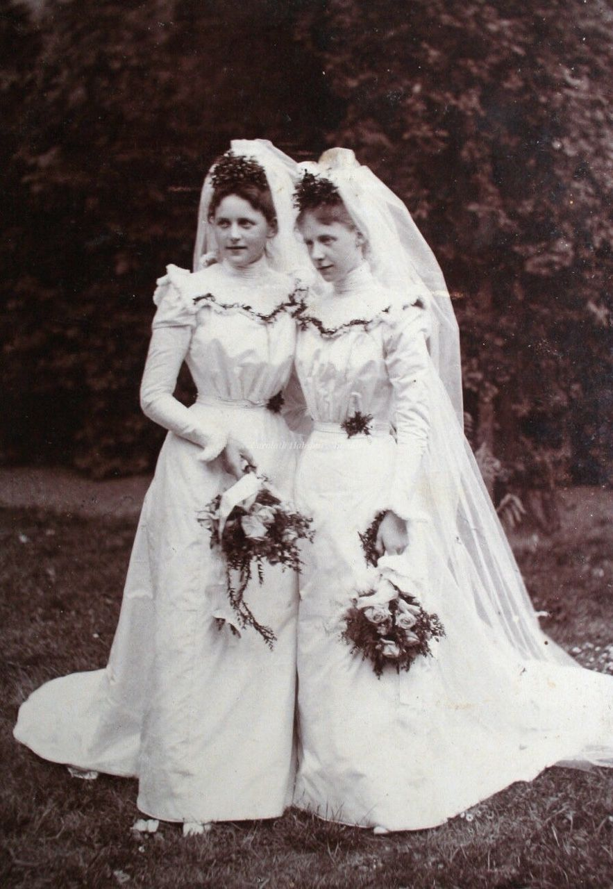 Brides. Early 1900s | Vintage Weddings | Pinterest