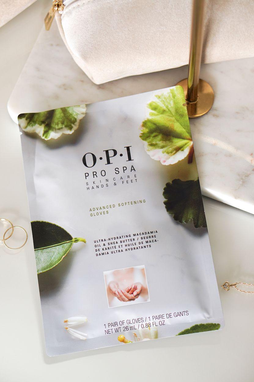 Opi Pro Spa Moisturizing Gloves Socks Macadamia Olie Macadamia Opi
