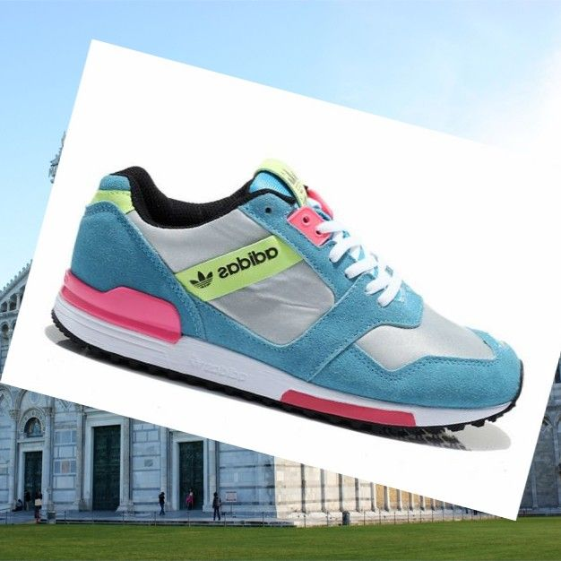 Adidas Zx 700 Trainers Donne Tiffany Blu/Argento/Rosa HOT SALE! HOT PRICE