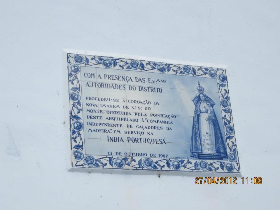 Funchal - Ilha da Madeira - Portugal  Igreja Nossa Sra dos Montes