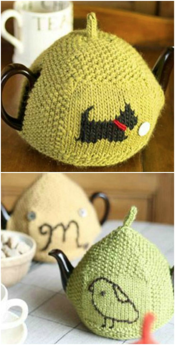 Knitted Tea Cozy Ideas Free Patterns | Tea cosy knitting ...