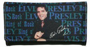 Officially Licensed New Elvis Presley Wallet//Checkbook Holder