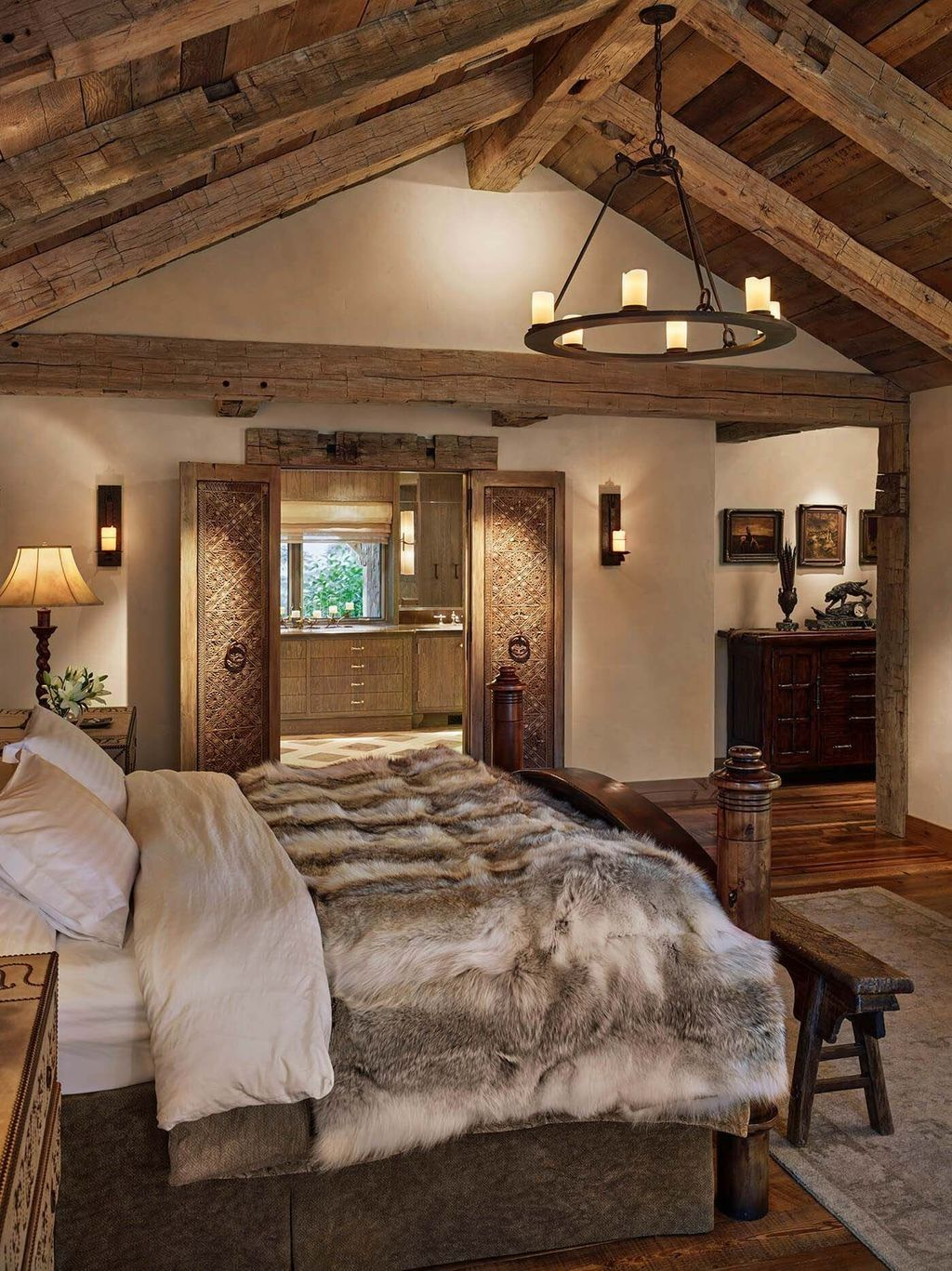 20+ Modern Rustic Master Bedroom Design Ideas