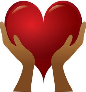 Heart Clipart Image: clip art illustration of a pair of ...