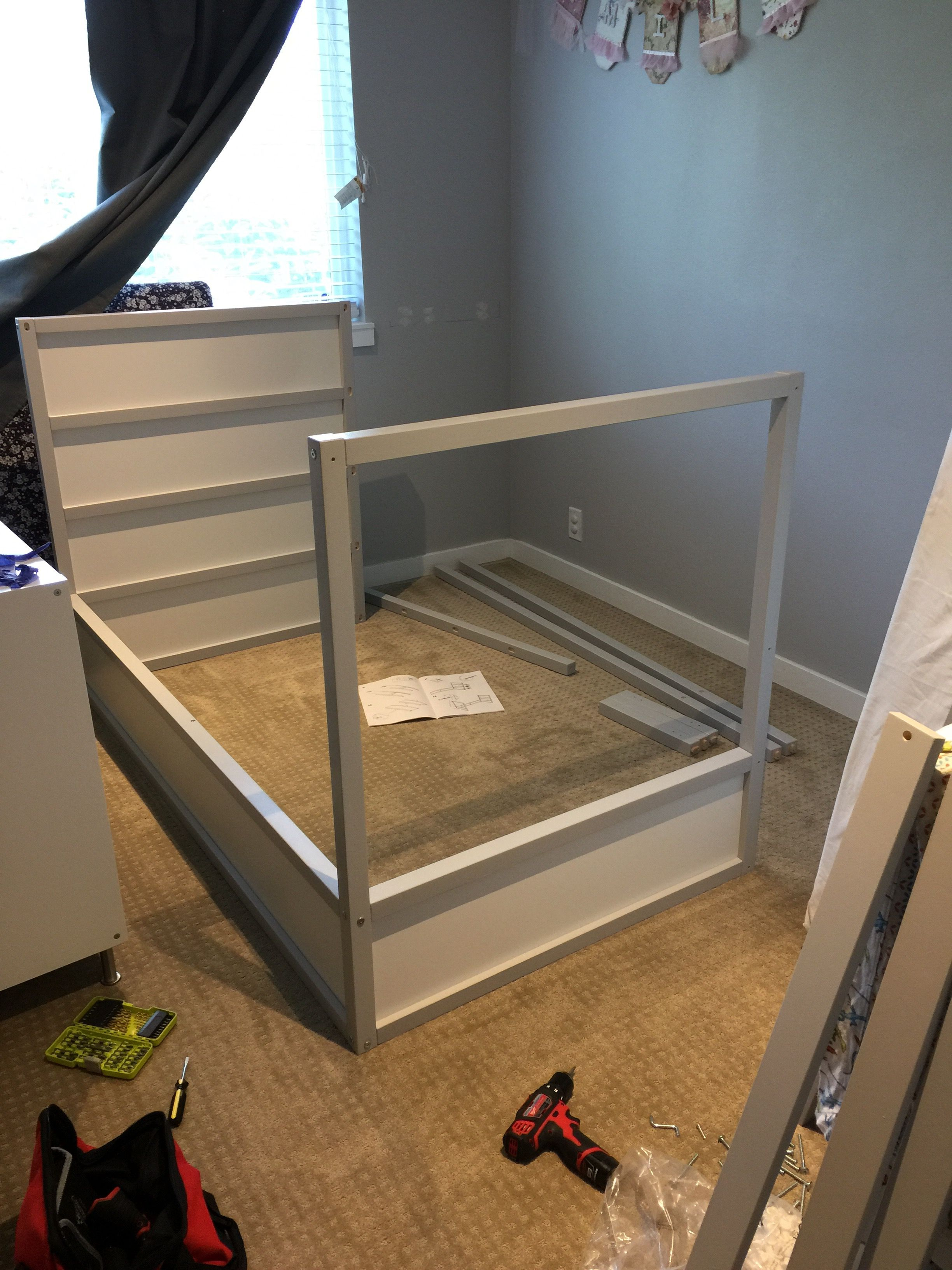 IKEA Kura Bunk Bed Hack | Growing up | Timée, Chambre