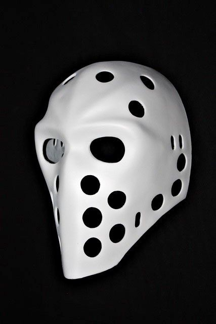 Vintage Fiberglass Nhl Ice Street Hockey Goalie Mask Helmet Richard Sevigny Ho04 Goalie Mask Hockey Mask Goalie