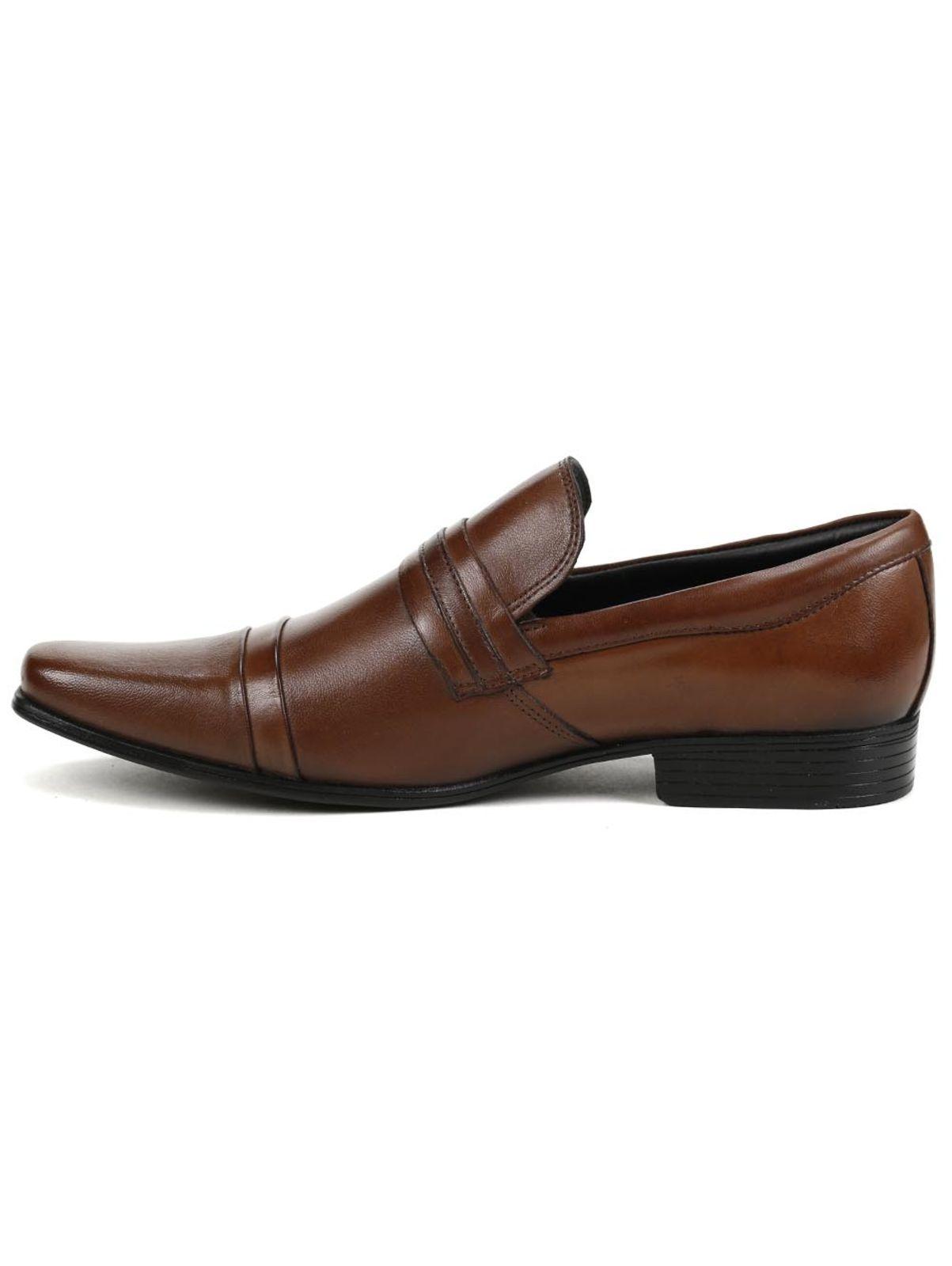 851a40a930b Sapato Casual Elétron Marrom Fashion Accessories