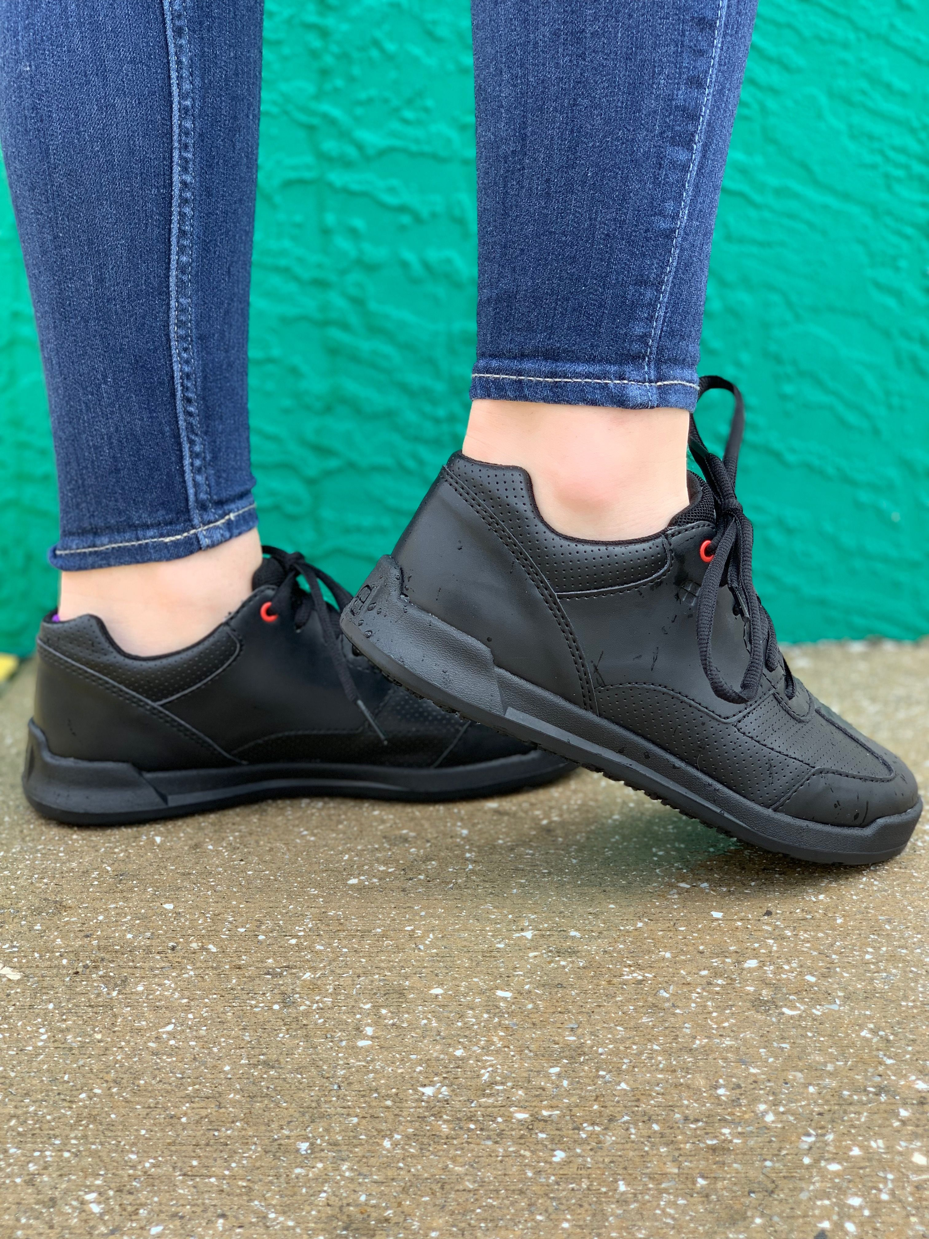 2ea3cb6a96ab Perform at your best with the slip-resistant Liberty athletic style shoe!  Perfect for long server shifts or a night out with friends!
