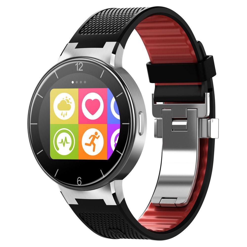 eeb1ccbc7e9 Alcatel One Touch Watch noire montre connectée