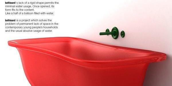 Bañera plegable, innovación en optimizar el espacio limitado de tu baño