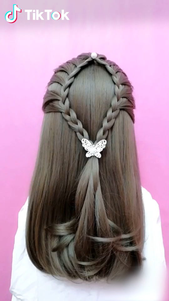 Tiktok Funny Short Videos Platform Hairstyle Hair Tutorial Hair Videos Long Hair Styles