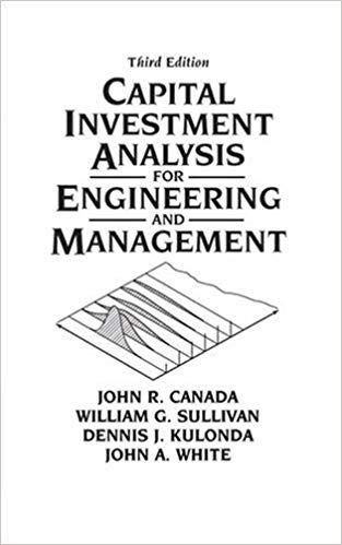 Solution Manual for Capital Investment Analysis for