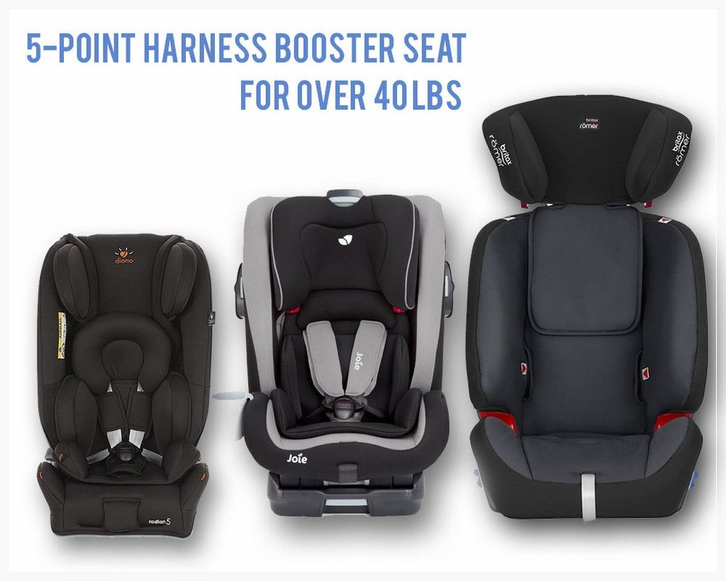 The Top Pick of 5-Point Harness Booster Seat for Over 40 lbs | Baby