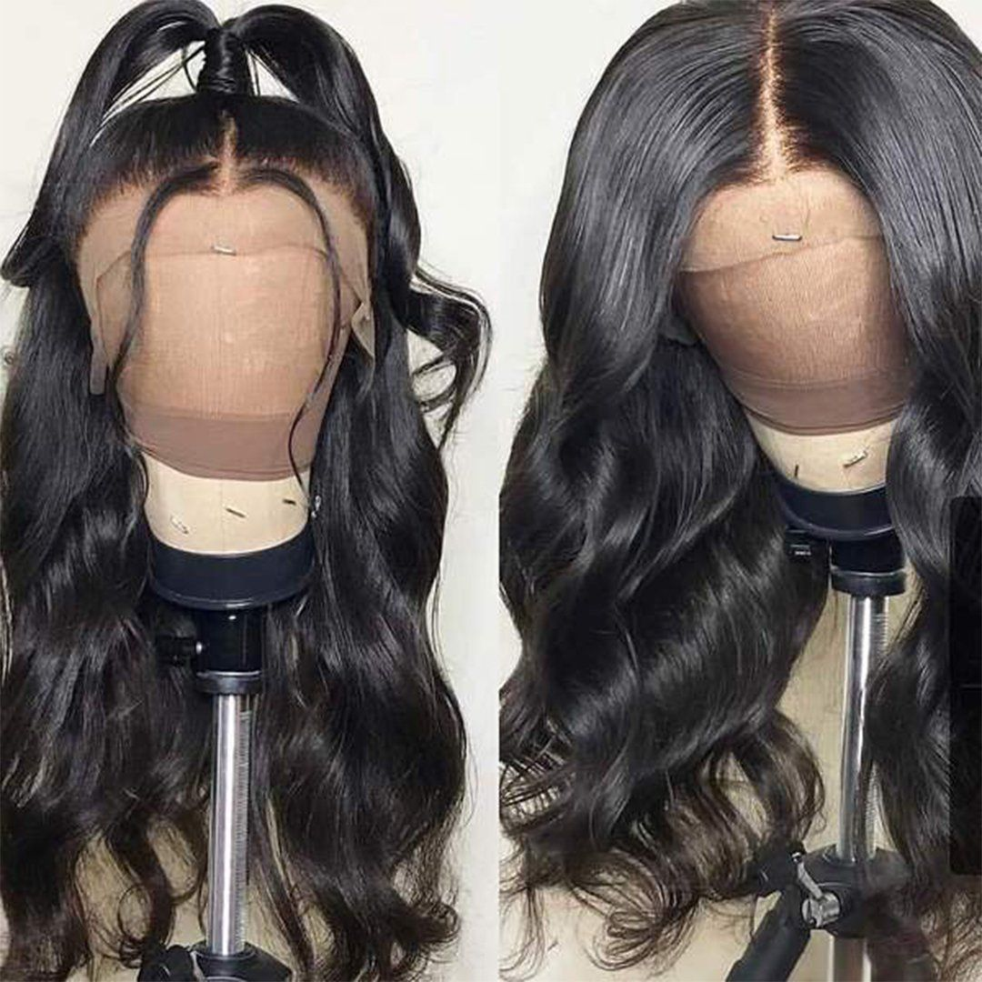 360 pre plucked lace wave wig #lacewigs