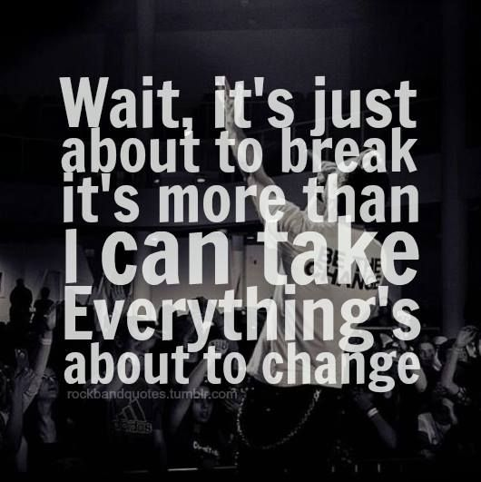 War of change ~ Thousand foot krutch   Band quotes in 2019
