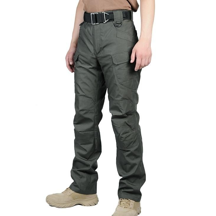 Men/'s Combat Army Military Tactical Work Slim Fit Twill Cargo Pants Trousers New